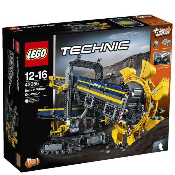 lego technic bucket wheel excavator 42055 toys. Black Bedroom Furniture Sets. Home Design Ideas