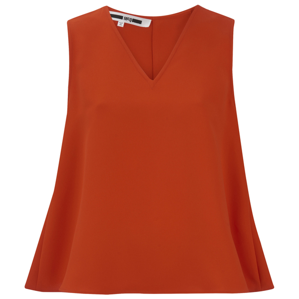 McQ Alexander McQueen Women's Volume Top - Red