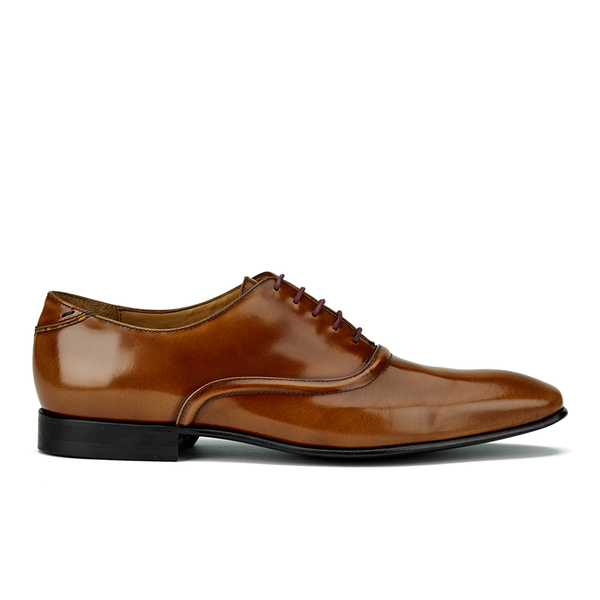 PS by Paul Smith Men's Starling Leather Oxford Shoes - Tan Hobar High Shine