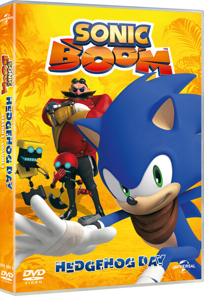 Sonic Boom Volume 2 Hedgehog Day Includes Free Sticker