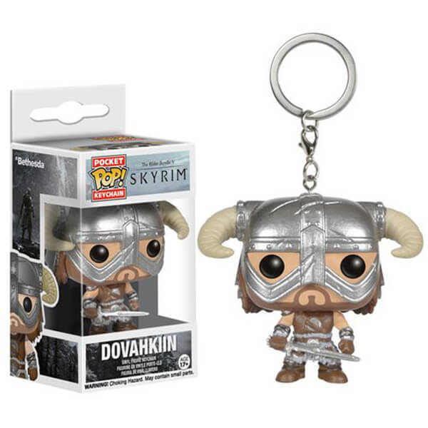 Elder Scrolls V: Skyrim Dovahkiin Pocket Pop! Key Chain
