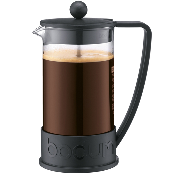 Bodum Brazil 8 Cup French Press Coffee Maker - Black