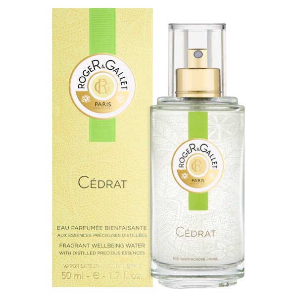 Roger&Gallet Citron Fresh Fragrant Water Spray 50 ml