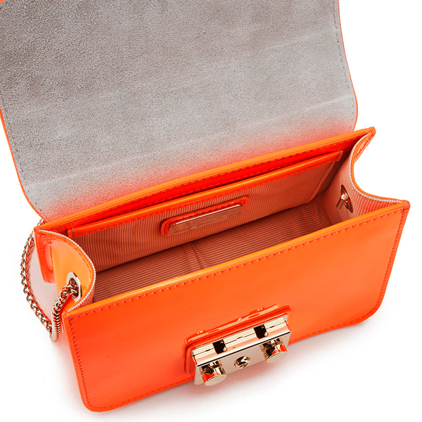 Orange Metropolis bag Furla FyZKl019