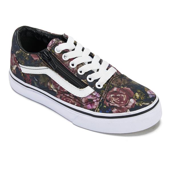 vans old skool flower sale   OFF35% Discounts ce226899f