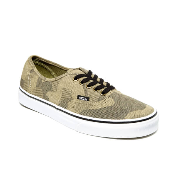 vans mens authentic camo