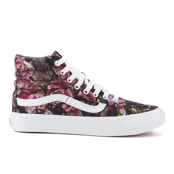 2c41f2eb08 Vans Women s Sk8-Hi Floral Trainers - Moody Floral Black True White ...