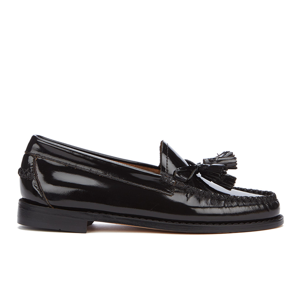 Bass Weejuns Women's Estelle Leather Loafers - Black Hi Shine