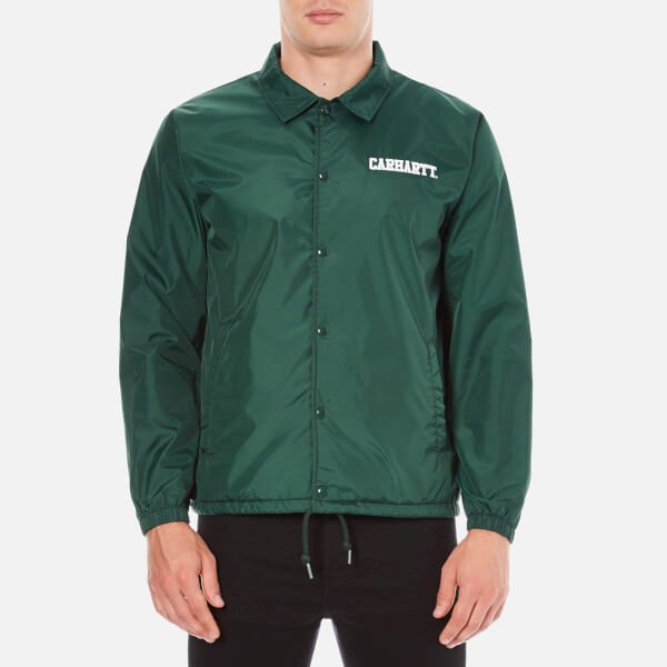 Carhartt Men's College Coach Jacket - Tafetta Conifer