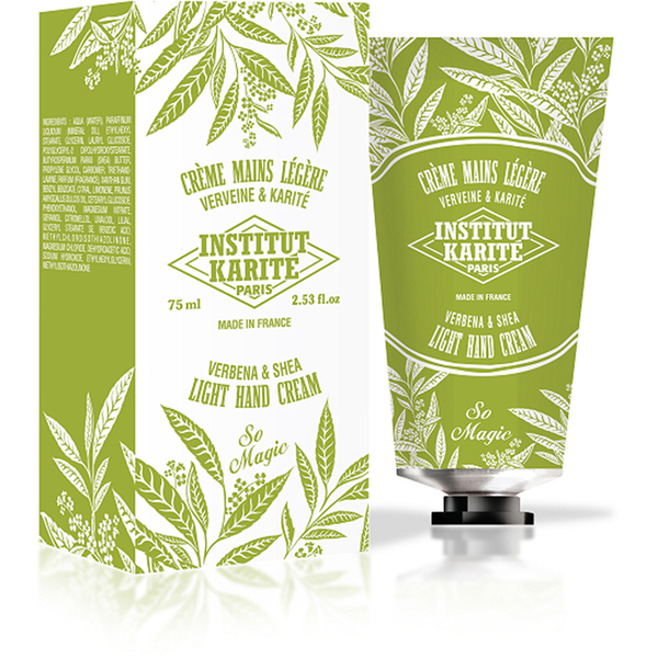 Institut Karité Paris Shea Light Hand Cream So Magic - Verbena 75ml
