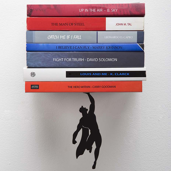 Artori Design Super Hero Book Shelf