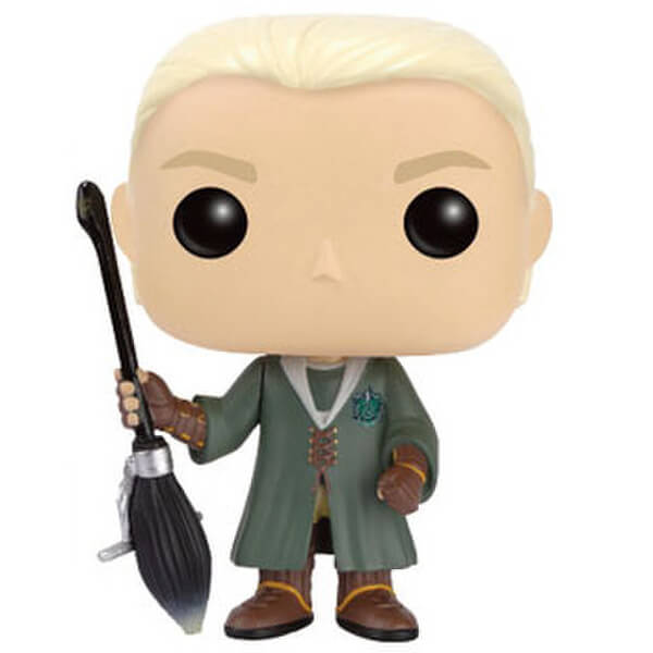 Harry Potter Pop! Vinyl Figure Draco Malfoy Quidditch EXC Pop! Vinyl Figure