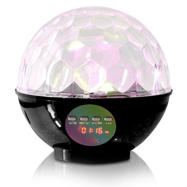 Itek Bluetooth Disco Ball Speaker Black Iwoot