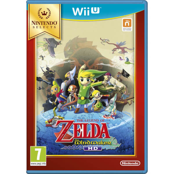 Nintendo Selects The Legend of Zelda: The Wind Waker HD