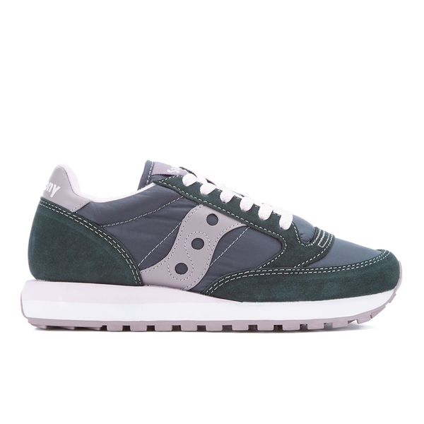 Saucony Women's Jazz Original Trainers - Charcoal/Grey