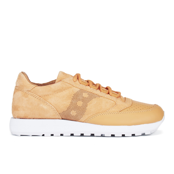 Saucony Men's Premium Jazz Original Lux 35th Anniversary Trainers - Wheat