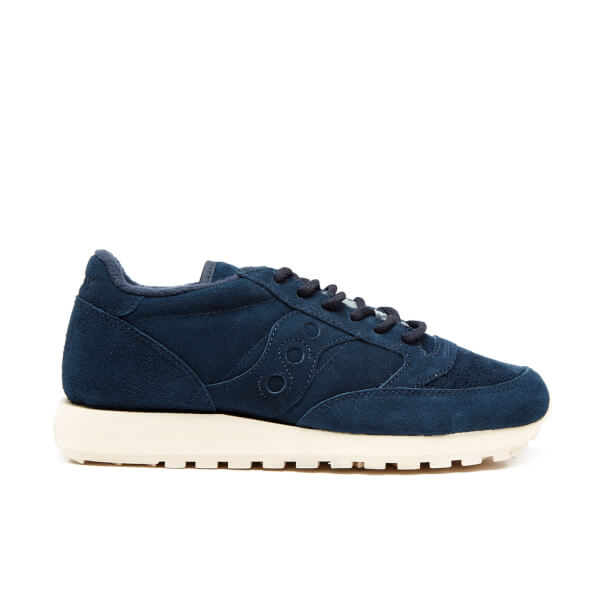 Saucony Men's Premium Jazz Original Suede Trainers - Navy