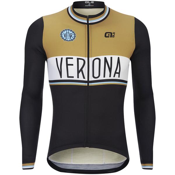 Al verona long sleeve jersey brown probikekit uk for Uniform verona