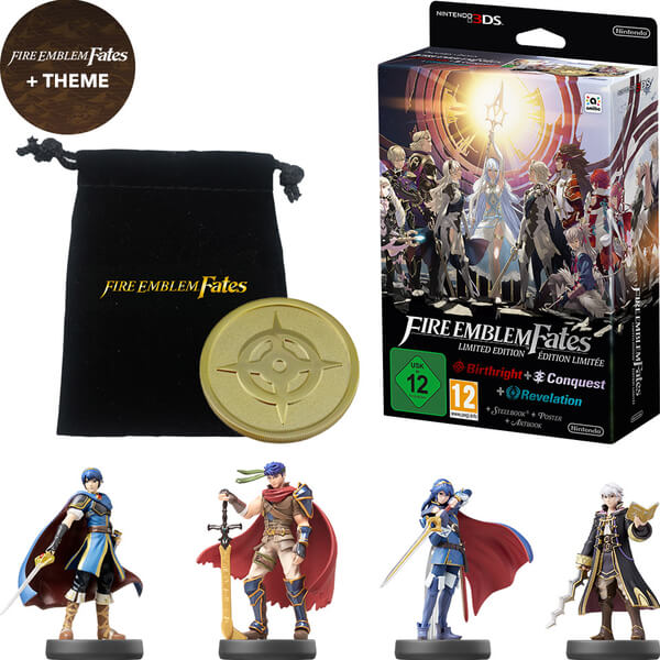 Fire Emblem Fates Limited Edition Amiibo Pack Nintendo UK Store - Fire emblem fates map pack 3 us