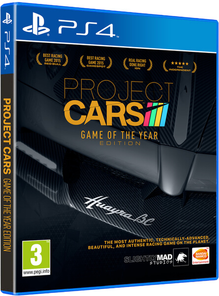 project cars game of the year edition ps4 zavvi. Black Bedroom Furniture Sets. Home Design Ideas