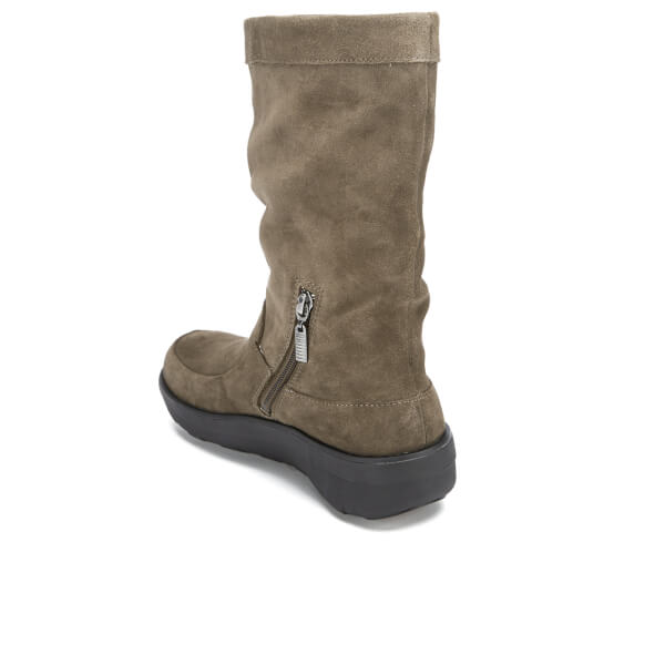 fitflop s loaff slouchy suede knee high boots
