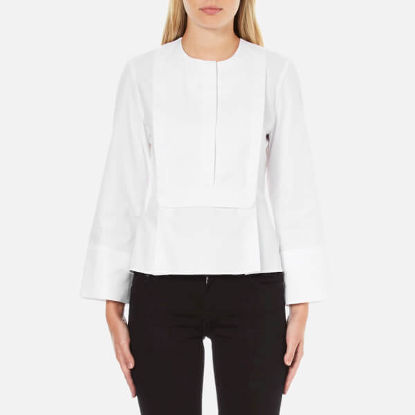Carven Women's Wide Sleeve Shirt - White