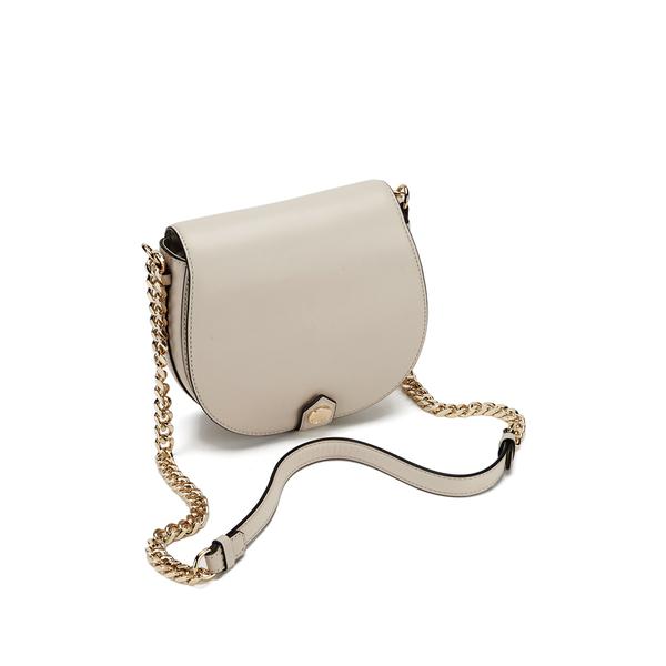 9ba11399671 Karl Lagerfeld Women s K Chain Small Shoulder Bag - Cream  Image 3