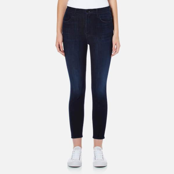 J Brand Women's Alana High Rise Crop Jeans - Daring