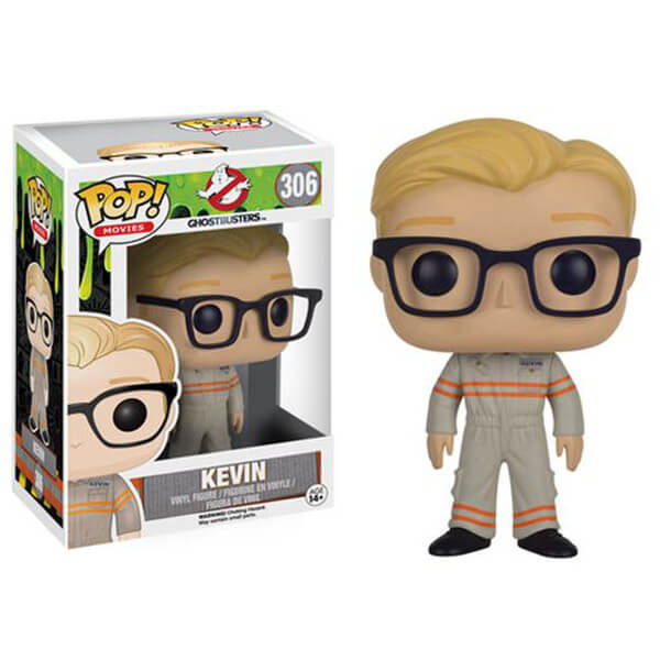 Ghostbusters 2016 Movie Kevin Pop! Vinyl Figure