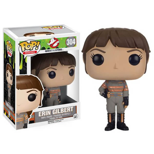 Ghostbusters 2016 Movie Erin Gilbert Pop! Vinyl Figure