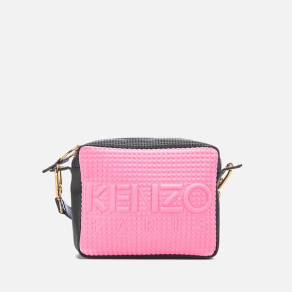 KENZO Women's Kombo Camera Bag - Pink/Bordeaux