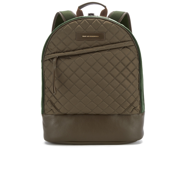 WANT LES ESSENTIELS Men's Kastrup 13' Backpack - Multi Gunmetal Quilt