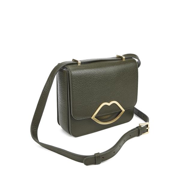 Lulu Guinness Women S Marcie Medium Crossbody Bag Dark Sage Image 3