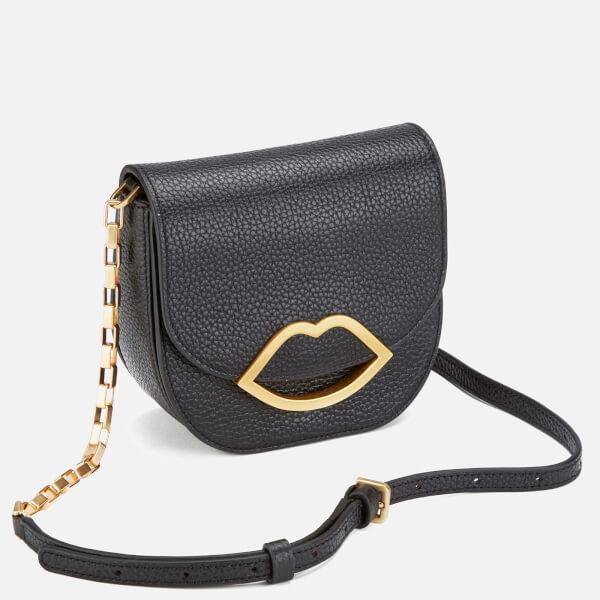 b9228132bd55 Lulu Guinness Women s Amy Small Crossbody Bag - Black  Image 3