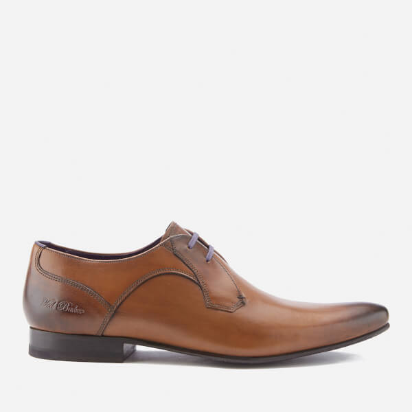 Ted Baker Men's Martt 2 Leather Leather Derby Shoes - Tan: Image 1