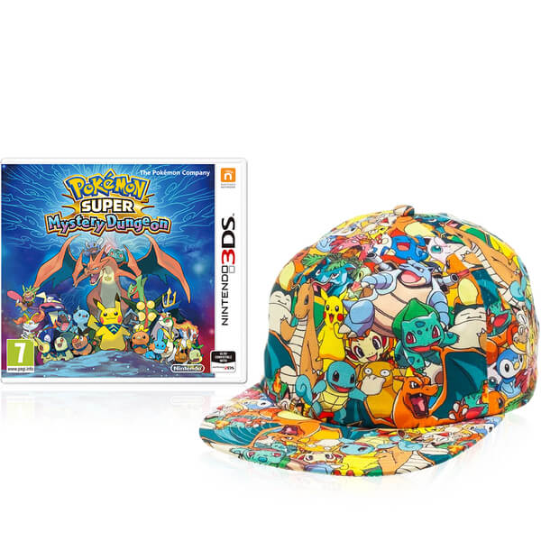 Pokémon Super Mystery Dungeon + Cap