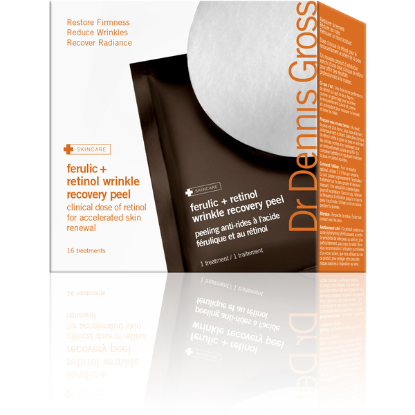 Gommage de réparation des rides à l'acide férulique et au rétinol du Dr Dennis (16par boîte)