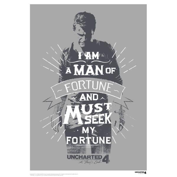 Affiche Uncharted 4 - Édition Limitée Exclusive pour Zavvi
