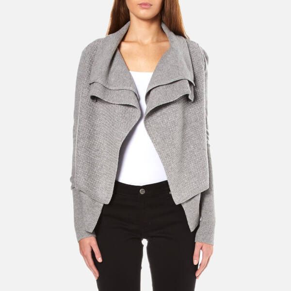 BOSS Orange Women's Ivettal Cardigan - Grey