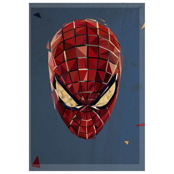 In Pieces' - Spiderman inspired Artwork Print - 14 x 11 Inches