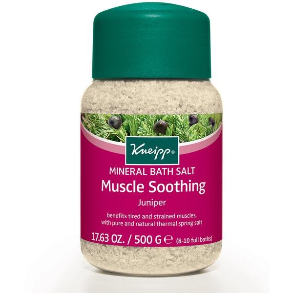 Sels de bain au genévrier pour détendre les muscles (500 g)