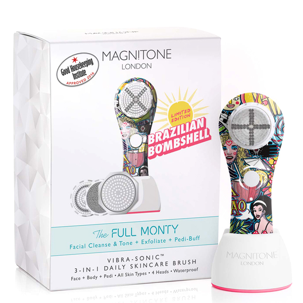 Magnitone London The Full Monty! Vibra-Sonic™ Daily Skincare Brush - Summer Edition '16