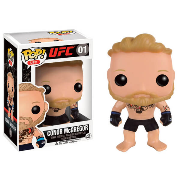 Ufc Conor Mcgregor Pop Vinyl Figure Merchandise Zavvi Com
