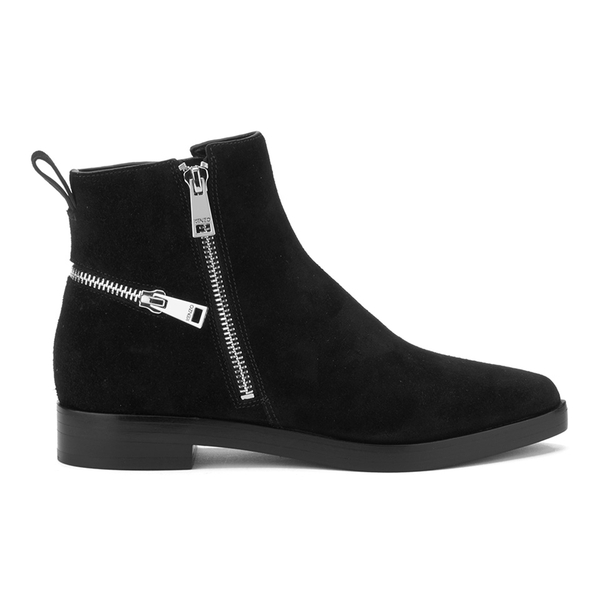 KENZO Women's Totem Flat Ankle Boots - Black
