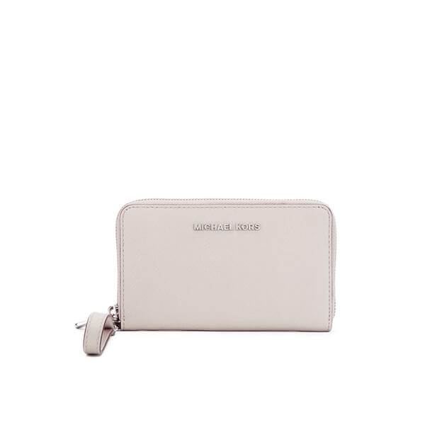 MICHAEL MICHAEL KORS Jet Set Travel Phone Purse - Cream