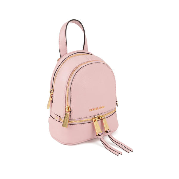 eab27f3786f2 MICHAEL MICHAEL KORS Rhea Zip Small Crossbody Backpack - Pink  Image 3