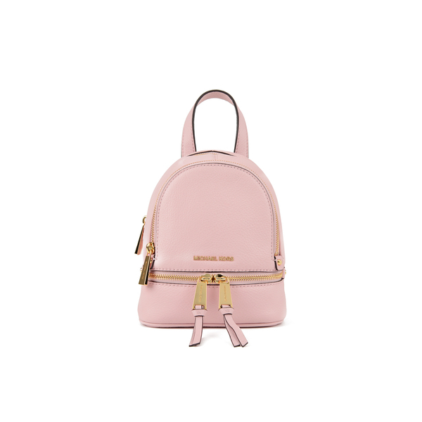 73cb7a97ff7f MICHAEL MICHAEL KORS Rhea Zip Small Crossbody Backpack - Pink: Image 1