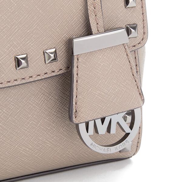 9523c5d29c98 MICHAEL MICHAEL KORS Ava Stud Mini Crossbody Bag - Grey  Image 4