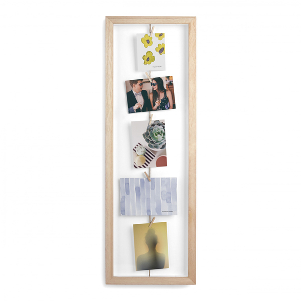 Umbra Clothesline Flip Photo Display Frame - Natural