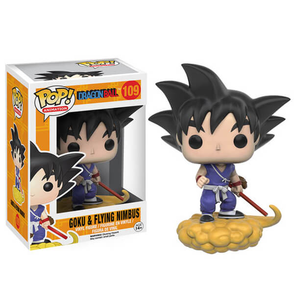 Dragon Ball Goku and Nimbus Pop! Vinyl Figure